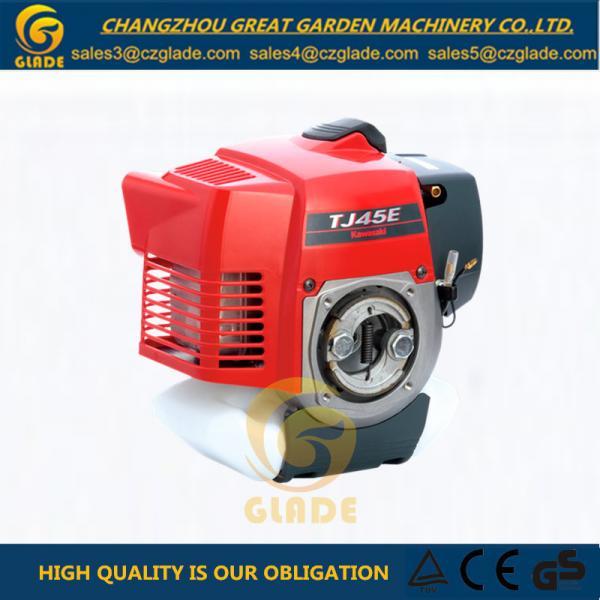 Quality Single Cylinder Air Cooled Gasoline Grass Cutter Power Original Kawasaki TJ45E Engine for sale