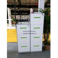Quality 3 drawer filing cabinet  CRS material, light grey color,apply for Legal and  Letter size for sale