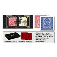 Wholesale 100% Plastic Da Vinci Route Marked Playing Cards For Poker Cheat Bridge Size from china suppliers