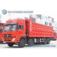 Wholesale 40 Ton 50 Ton 60 Ton Dongfeng 8*4 Rubbish Collection Truck 4 Axles 340 Hp from china suppliers