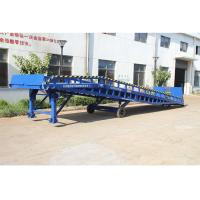 Wholesale Safety Movable Warehouse Loading Dock Ramps 6 - 10T With Anti Skid Platform from china suppliers