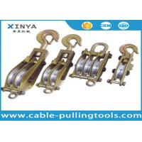 China Snatch Steel Wire Rope Pulley Block on sale