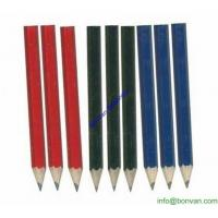 Wholesale Cheap and High Quality Golf Penils, golf marking short mini Hb pencil from china suppliers