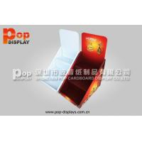 Wholesale Lightweight Portable Countertop Corrugated Plastic Display For Showing Cigarettes In Supermarket from china suppliers