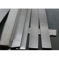 Wholesale 201 / 202 stainless steel flat bar , cold rolled stainless steel flat stock 20x4 - 200x40 size from china suppliers