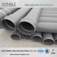 Buy cheap Factory price grey PN10 160mm PVC water pipe price from wholesalers