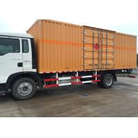 Wholesale High Security Van Cargo Truck SINOTRUK HOWO 4X2 LHD Euro 2 Lorry Vehicle from china suppliers