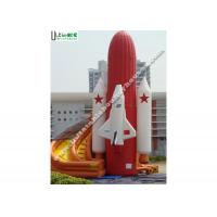 Wholesale PVC Tarpaulin Rocket Inflatable Slide Commercial Fire Retardant from china suppliers