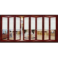 Quality Toughened Collapsing Sliding Glass Doors / Bi Folding Sliding Doors for sale