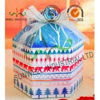 Wholesale Custom Product Cardboard Food Packaging Boxes With Ribbon Bow Decoration Special Shape from china suppliers
