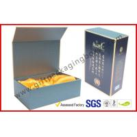 Wholesale Luxury Black Paper Win Gift Boxes with Golden Print Custom Made from china suppliers