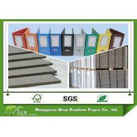 Wholesale Hard Stiffness 1200gsm Book Binding Board Laminated Grey Cardboard from china suppliers