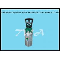 Quality 8L aluminum oxygen tank / oxygen portable cylinders with DOT standard for sale