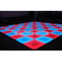 Wholesale Music Activated RGB Led Dance Floor ,  illuminated dance floors for bar / night club from china suppliers