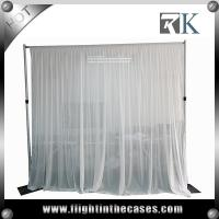 Wholesale truss stand modular exhibition booth backdrop pipe and drape for wedding from china suppliers