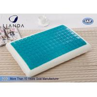 Wholesale Bedroom cool contour pillow , king size comfort gel pillow stays cool from china suppliers