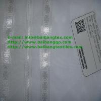 Wholesale 00144 SPUN VOILE WHITE WITH JACQUARD SELVEDGE from china suppliers