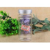 Wholesale Customized Small Capacity Clear Plastic Cylinder Package Bottle With Screwcap from china suppliers