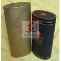 Quality Custom Gift Paper Tube Packaging For Cosmetics , Recycled Paper Tube for sale
