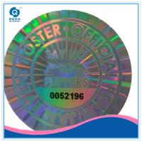 Quality Security 2d 3d anti-fake hologram sticker, leave VOID hologram sticker label manufacture for sale
