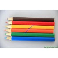 Wholesale 3.5 inches colours pencils, gift color pencil,wooden colored pencil for stationery school from china suppliers