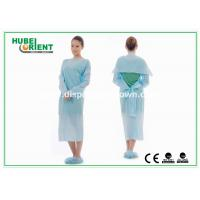Wholesale Protective & Waterproof Disposable Lab Coats CPE Gown with Thumb Loop from china suppliers
