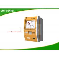 Wholesale Coin Insert Payment Self Service Banking Kiosk And Display / Touch Screen Terminal from china suppliers