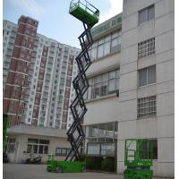 Wholesale 13.8 meters electric elevated self propelled scissor lift with extension platform , 320Kg from china suppliers