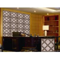 Wholesale Leather Home Decor Wallpapers Home Decoration Accessories , Customized 3D Wall Panel from china suppliers
