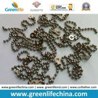 Wholesale Decorative 2.0mm Metal /Stainless Steel Bead Ball Badge Chain from china suppliers