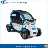Quality 75-80km mileage ABS engineering plastic electric vehicle 4 wheels mini car for sale