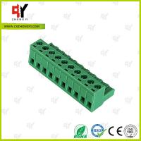 Buy cheap Wire Range 28-12 AWG Pluggable Terminal Block Connector , Electrical Connector Block from wholesalers