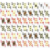 Quality XF Texas holdem 100% plastic playing cards for poker games|magic trick|poker games|card games|Casino games|gamble cheat for sale