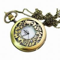 Wholesale Music Pocket Watch, Easy to Wear and Read Time, OEM Orders are Accepted from china suppliers