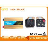 Wholesale Yellow UPS Solar Inverter Modified Sine Wave Car Inverter 3000w 12v/24V 220v from china suppliers