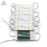 Wholesale 5050 SMD Led Module 5 leds Waterproof Light Advertising for Led Sign Warm white from china suppliers
