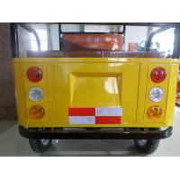 Quality Foot Brake Passenger Electric Powered Tricycle With Roof 2780*950*1750mm for sale