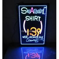 Wholesale Customized size Hanging Or Wall Mounted Crystal Acrylic led display for advertising from china suppliers