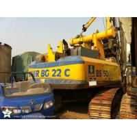 Quality BAUER BG22  drill machines germany Rotary Drilling Rig BG18 BG25 BG26 for sale