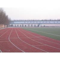 Wholesale UV Resistant 25mm Red Football Artificial Turf , 9000Dtex Artificial Grass from china suppliers