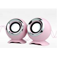 Wholesale Pink Tiny High End Computer Speakers USB Connection 4Ohm For Music from china suppliers