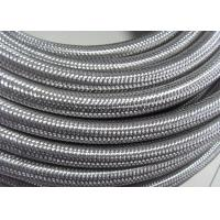 Wholesale Outer Stainless Steel Braided Compressed Air Hose Pure Rubber Tube Inside from china suppliers