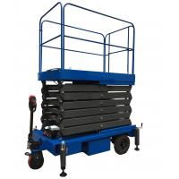 Wholesale 24V Mobile Scissor Lift Manganese Steel Motorized Hydraulic Lift from china suppliers