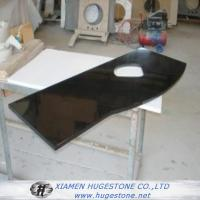 Buy cheap Polished Black Sink Countertops, China black granite sink Countertops from wholesalers