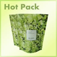 Wholesale Eco - Friendly Resealable Printed Stand Up Pouches With Zipper Green Color from china suppliers