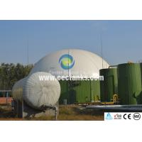 Wholesale AWWA D103 Glass Lined Water Storage Tanks , BSCI Above Ground Water Storage Tanks from china suppliers
