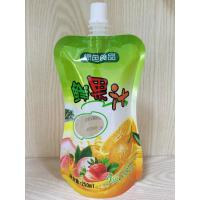 Wholesale Spout Pouch Stand Up Clear Drink Liquid Pouch Packaging For Food Industrial from china suppliers