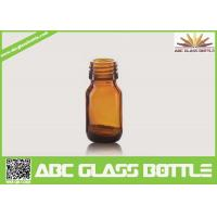 Wholesale Wholesale 20ml Amber Glass Bottle For Liquid Medicine from china suppliers