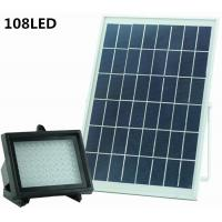 Quality Outdoor Spotlight for Lawn Garden Solar Street Light 108LED Waterproof Outdoor Landscape Spot Light for sale
