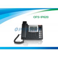 Quality POE 3 Way Calling IP Conference Phone 2 / 4 / 6 SIP Lines Backup SIP Proxy Servers for sale